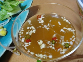 Garlic, Chili and Fish Sauce (Nuoc Cham)