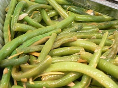 Garlicky Green Beans