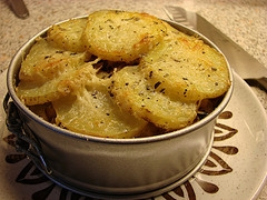 Golden Parmesan Potatoes