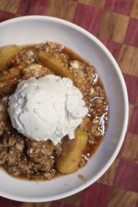 Grilled Apple Crisp
