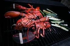 Grilled Lobster Dinner