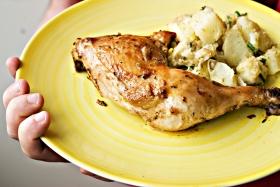 Herbed Chicken Thighs