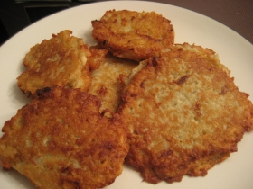 Homemade Potato Pancakes