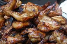 Honey Garlic Chicken Wings
