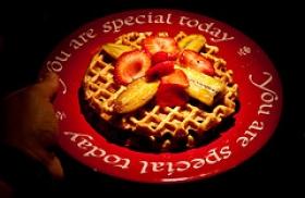 Honey and Whole Wheat Waffles