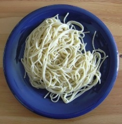 Hot Pepper and Garlic Spaghetti