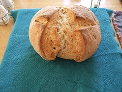 Irish Whole Wheat Soda Bread