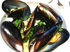 Italian Mussels In White Wine