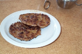Lean Pork Breakfast Patties