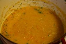 Leek And Turnip Soup