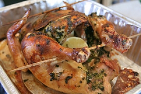 Lemon-Herb Roast Chicken