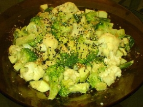 Lemon Sesame Broccoli