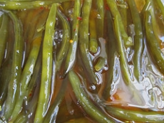 Marinated Green Beans