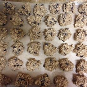 Oatmeal Freezer Cookies