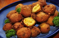 Onion Hush Puppies