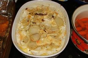 Onions Au Gratin
