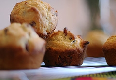 Orange Cranberry Muffins