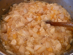 Orange Marmalade Pears