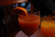 Orange Tangerine Mimosa