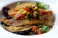 Pan Fried Trout
