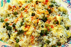 Peas Pulao