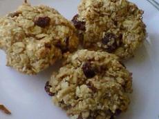 Raisin Peanut Butter Cookies