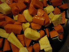 Roasted Carrots And Parsnips