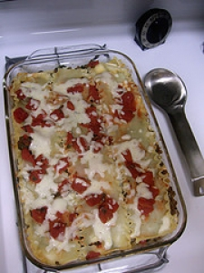 Sausage and Spinach Lasagna