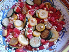 Sauteed Summer Vegetables