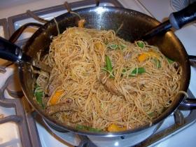 Sesame Buttered Noodles