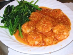 Shrimp With Tomato-Chili Sauce