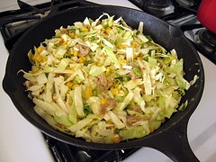 Skillet Cabbage