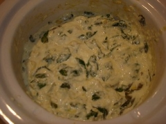 Spinach-Artichoke Dip (Chicago Style)