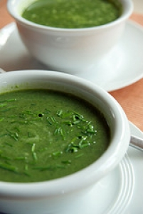 Spinach Fennel Soup
