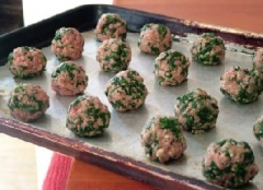 Spinach Meatballs