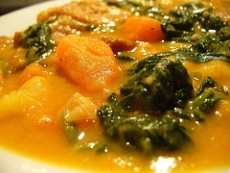Spinach & Peanut Butter Stew
