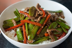 Stir-Fried Beef and Peppers
