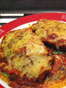 Stuffed Mushrooms Parma