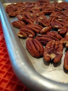 Toasted Nut Cookies