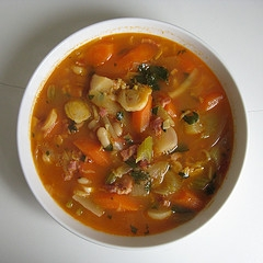 Winter Carrot Soup