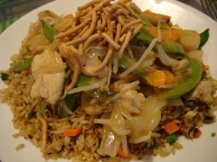 Sweet and Sour Stir-Fry with Chicken