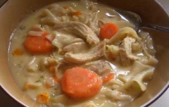1-Pot: Creamy Chicken Noodle Casserole