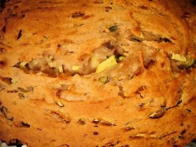 Onion Zucchini Quick Bread