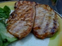 Grilled Pork Cutlet with Rosemary