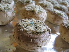 Fresh Stuffed Mushrooms