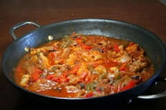 Homestyle Chicken Cacciatore