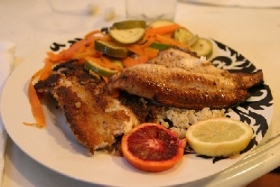 Lime Broiled Catfish