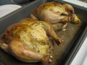 Juicy Cornish Hen