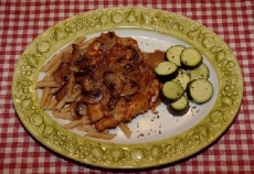 Homemade Chicken Marsala