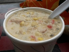 Chicken and Chile Corn Chowder
